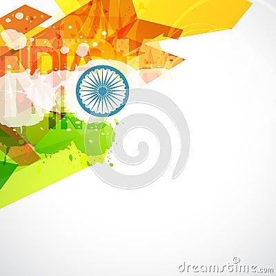 Indian flag design