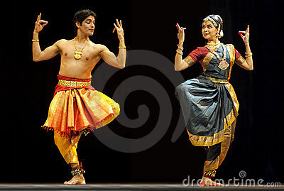 Indian folk dance Editorial Stock Image