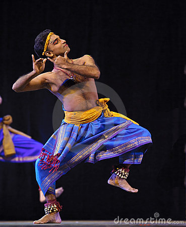 Indian folk dance Editorial Stock Photo