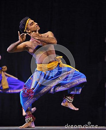 Indian folk dance Editorial Stock Photo