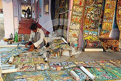 Indian folk Painting Editorial Photo