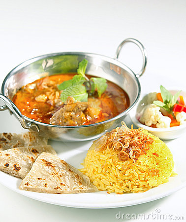 Free Indian Food Royalty Free Stock Photography - 22109217