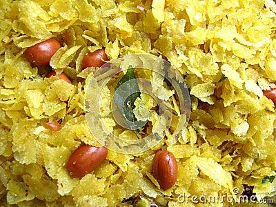 Indian Food-Chiwda