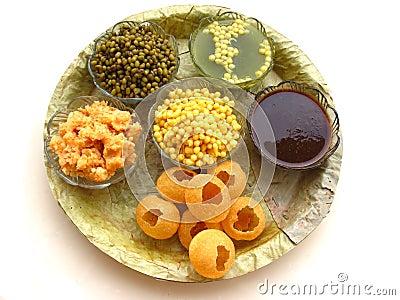Indian Food-Pani Puri