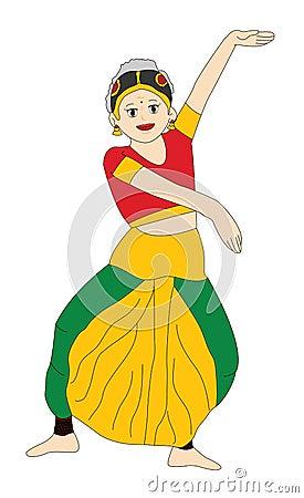 Indian girl - Dancing