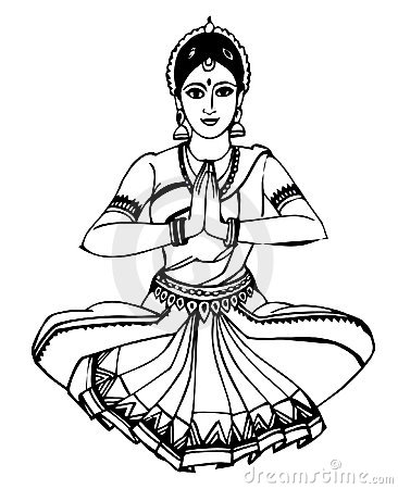 Indian girl - Dancing