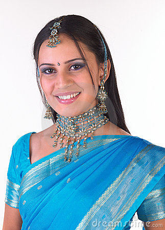 Indian girl with nice jewelery