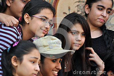 Indian Girls Editorial Photography