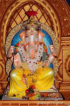Free Indian God Of Prosperity Royalty Free Stock Photo - 6317415
