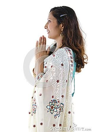 Indian greeting