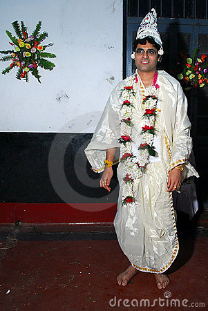 Indian Groom Editorial Stock Image