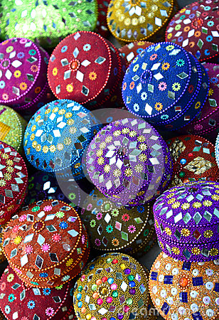 Free Indian Hand Made Crafts Stock Photography - 35742212