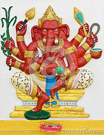 Indian or Hindu God Ganesha avatar