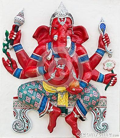 Indian or Hindu God Named Kasipa Porasada Ganapati
