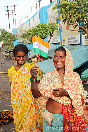 Indian Independence Day Editorial Photo