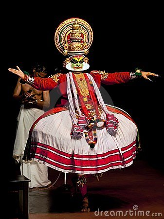 Indian Kathakali Theatre Editorial Stock Photo