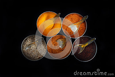 Indian Kitchen Spices