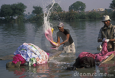 Indian Laundry Editorial Stock Photo