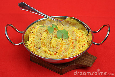 Indian Lemon Pilau Rice