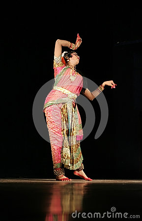 Indian male Dancer Kuchipudi Haleem khan Editorial Stock Image