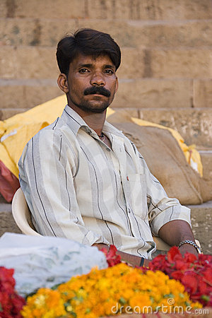 Indian man in Rajasthan Editorial Photo