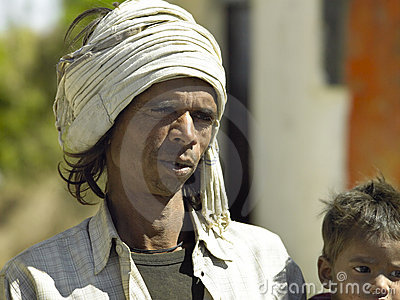 Indian man in Udaipur - India Editorial Stock Photo