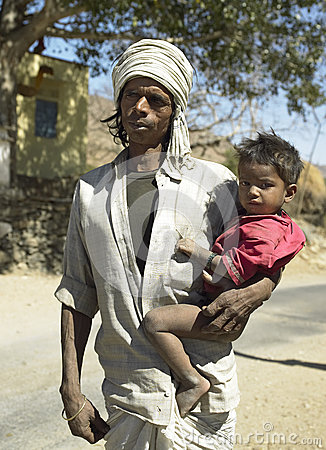 Indian Man  Udaipur - Rajasthan - India Editorial Photo