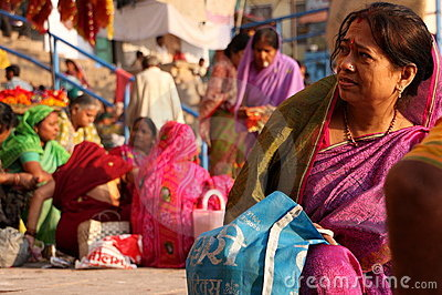 Indian market Editorial Stock Photo