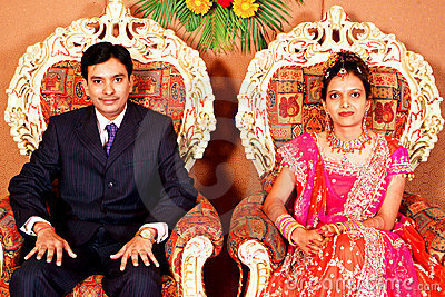 Indian Marriage Reception