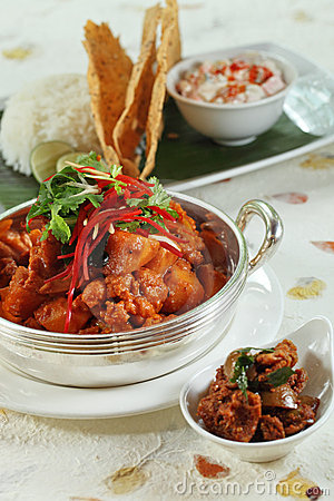 Indian meal food