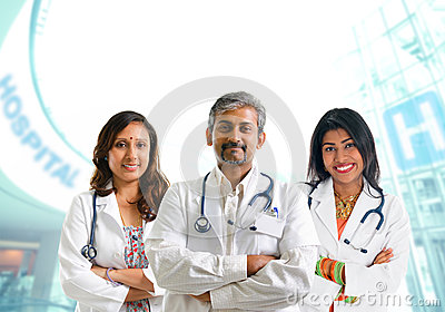 Indian medical team
