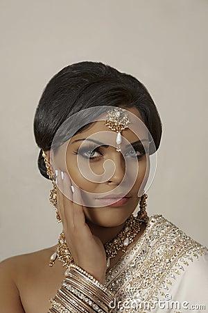 Free Indian Model Royalty Free Stock Image - 18292096