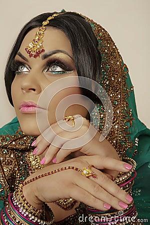 Free Indian Model Royalty Free Stock Image - 18292246
