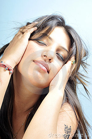 Indian model girl