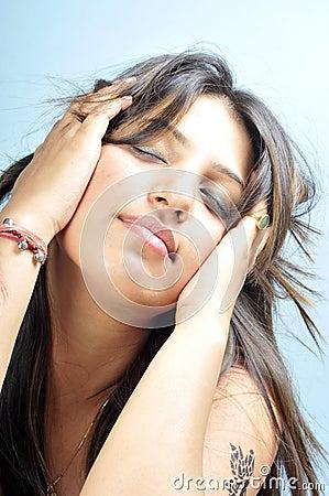 Free Indian Model Girl Stock Photos - 14153383
