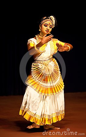 Indian Mohinyattam Dance Editorial Photography