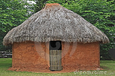 Indian Mud Hut
