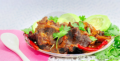 Indian Mutton Korma (Mutton Curry, Meat Curry)