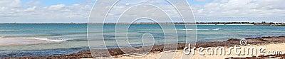 Indian Ocean panorama  at Mandurah West Australia
