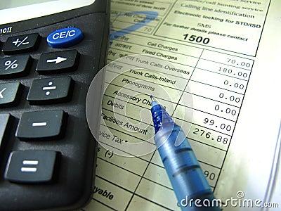 Indian Phone Bill