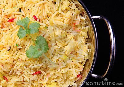 Indian Pilau rice