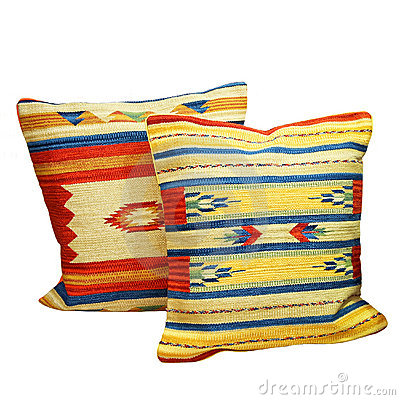 Free Indian Pillows Royalty Free Stock Photos - 5068208
