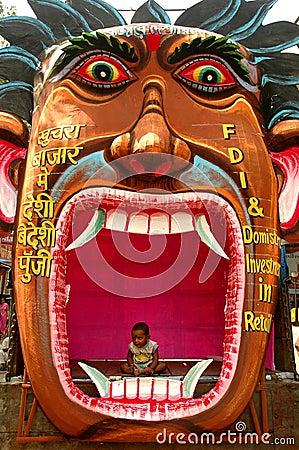 Indian Politics. Editorial Photography