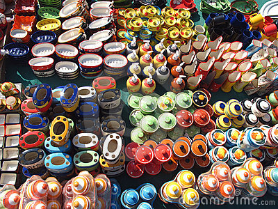 Indian Pottery Shop