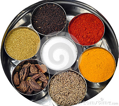 Indian powder spices