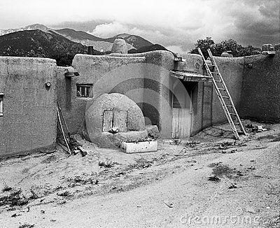 Indian Pueblo Homes Editorial Image