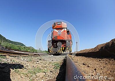Indian Railways Engine Editorial Image