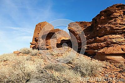 Indian ruins