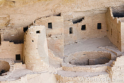 Indian ruins at Mesa Verde