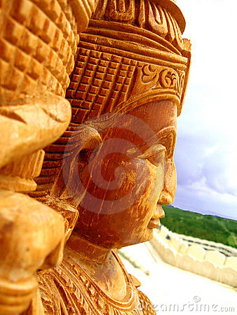 Free Indian Sculpture Stock Photography - 5338872